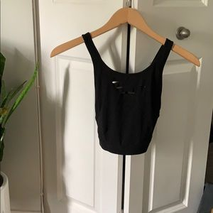Alo Yoga Black Sports Bra - Size Small - Worn Once